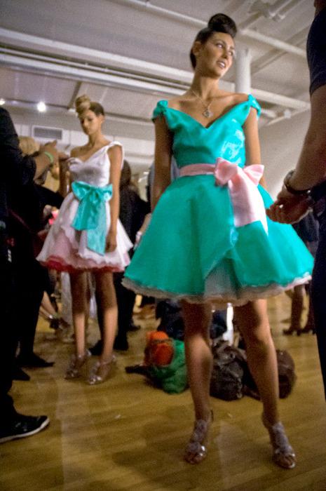 Dresses I designed for Caravan