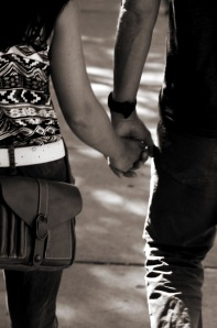 scott holding hands