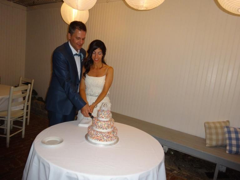 me and scott cake cutting 2