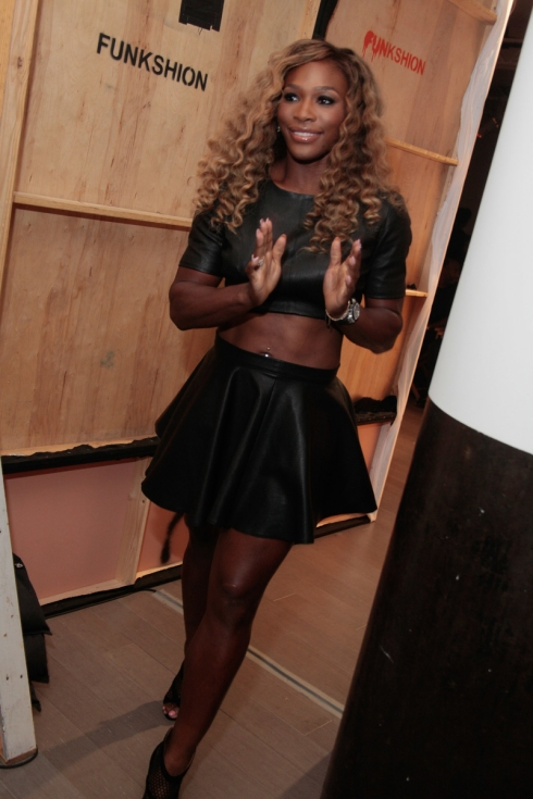 STYLE360 Spring 2015 Serena Williams backstage/frontrow
