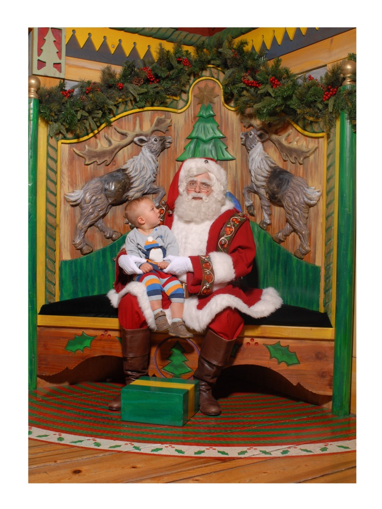 tatum macys with santa